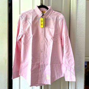 Five Four men's pink dress shirt. NWT